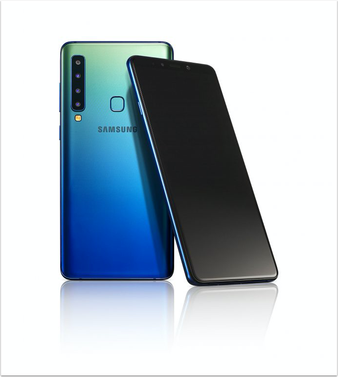 Samsung Unveils the New Galaxy A9 – The World's First Rear Quad Camera