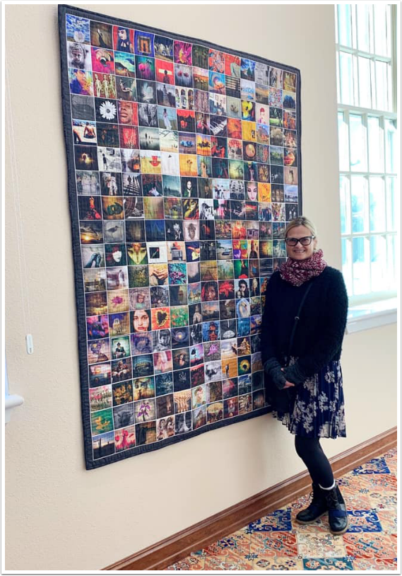 Mobile Photography & Art – The Quilt Project at The Kemp Center for the Arts in Texas, United States