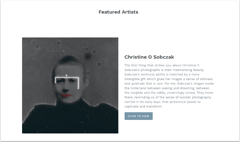 Mobile Photography & Art – Christine O Sobczak Joins Our Online Gallery