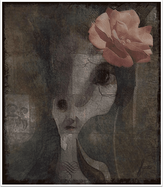 Mobile Photography / Art – Saturday Poetry – 'Her Makeup Face' by Garrett Hongo with Janis Brandenburg Lee