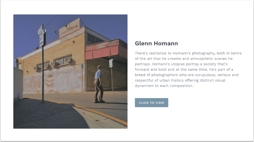 Mobile Photography & Art – Glenn Homann Joins Our Online Gallery