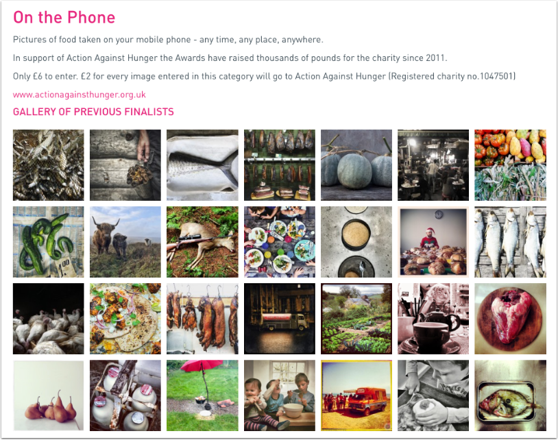 Pink Lady Food Photographer of the Year – Deadline Approaching – Mobile Photography Category