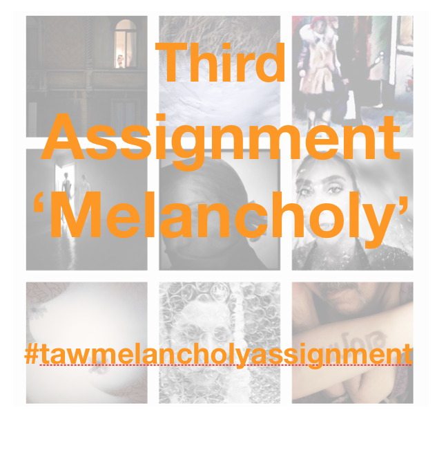 Third New Assignment Announced 'Melancholy' for our Forthcoming Book 'Away with Words'