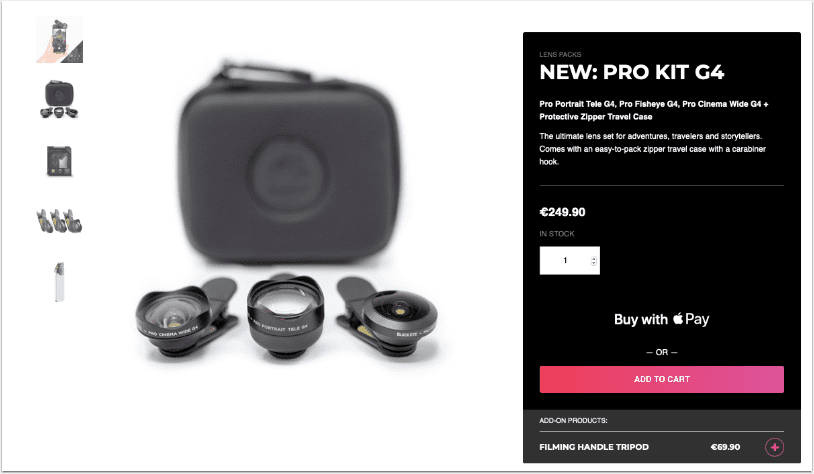 New Black Eye Pro Kit G4 – A One-Kit Solution for Pro Mobile Photography