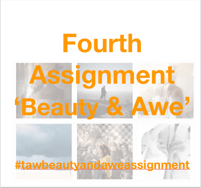 Fourth New Assignment Announced 'Beauty & Awe' for our Forthcoming Book 'Away with Words'