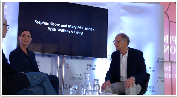 Photo London 2019 Interview with William A Ewing, Mary McCartney and Stephen Shore