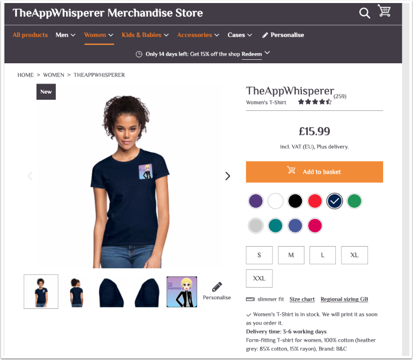 Welcome To TheAppWhisperer Merchandise Store and Competition